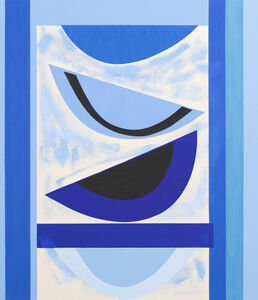 Sir Terry Frost, 'Innocent Blue', 2003