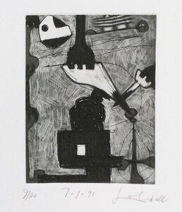 Frank Lobdell, '7.1.91', 1991