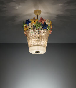 Flavio Poli, 'Ceiling light', 1950s