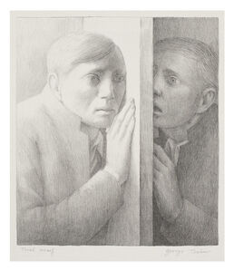 George Tooker, 'Voice', 1977