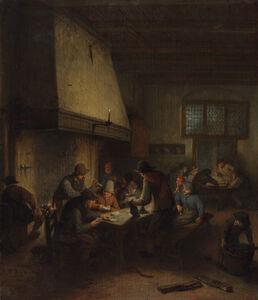 Adriaen van Ostade, 'Tavern Scene', early 1660s
