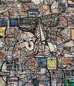Kazi Salahuddin Ahmed, 'Sheer Chaos 25', 2012