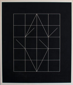 Anthony Hill, 'Vector Rythms', 1972