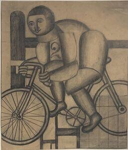 Henryk Streng/ Marek Włodarski, 'Cyclist', ca. 1925