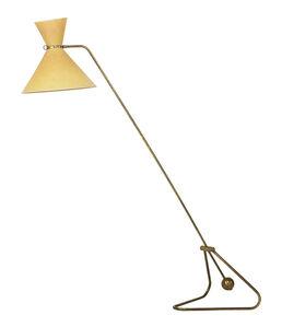 Robert Mathieu, 'Counterbalance floor lamp', 1950s