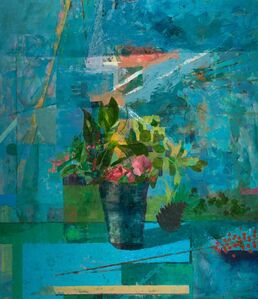 Chris Liberti, 'Flowers and Pine Cone', 2017
