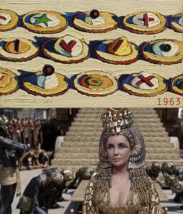 Bonnie Lautenberg, '1963, Cleopatra - Wayne Thiebaud, Hors d'Oeuvres', 2018