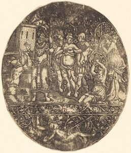Antoine Jacquard, 'The Capture of Troy'