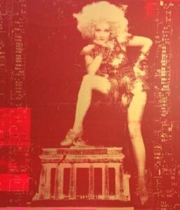 Andreas Reimann, 'Marlene Brandenburg Gate Red/Gold', 2015