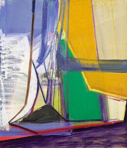Amy Sillman, 'P', 2007