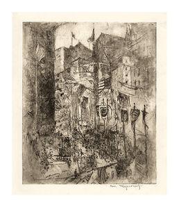 William Meyerowitz, 'Armistice Day', 1918