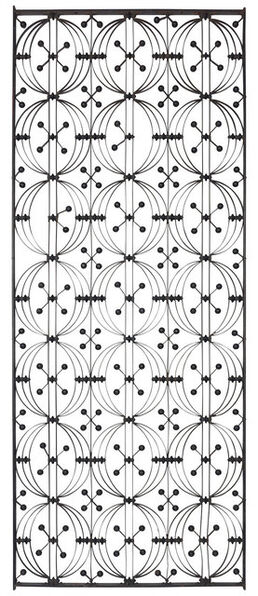 Dankmar Adler, 'Cast and Wrought Iron Elevator Grille From the Chicago Stock Exchange Building', circa 1893-4