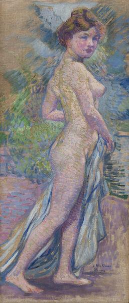 Théo van Rysselberghe, 'Nu (Nude)', 1903