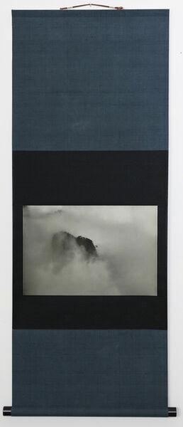 Kenji Wakasugi, 'Hillsides in Fog (Printed on Japanese washi paper and mounted on a scroll)', 2017