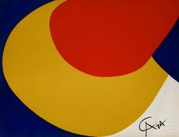 Alexander Calder, 'Convection (Flying Colors Collection)', 1974