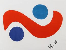 Alexander Calder, 'Flying Colors 1', 1974