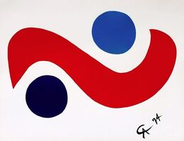 "Alexander Calder, '""Skybird"", The Flying Colors Collection', 1974"