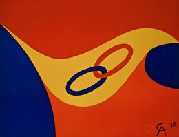 "Alexander Calder, '""Friendship"", The Flying Colors Collection', 1974"