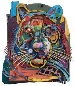 Bordalo II, 'Plastic Tiger', 2018