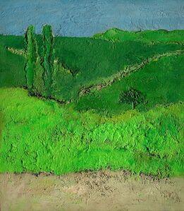 Carlo Mattioli, 'Paesaggio verde', 1979