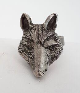 Stephan Bircher, 'WOLF HEAD - ring', 2019