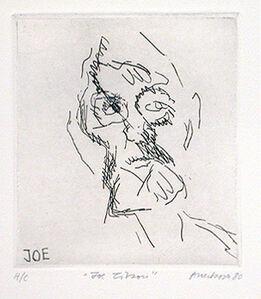 Frank Auerbach, 'Joe Tilson', 1980
