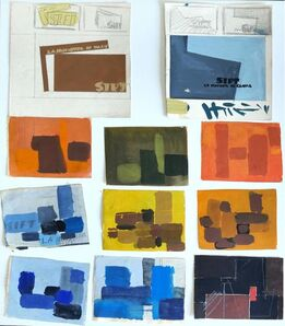 Alkis Matheos, 'Abstract Compositions', Mid 20th Century