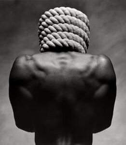 Stephane Graff, 'Ropehead', 1991