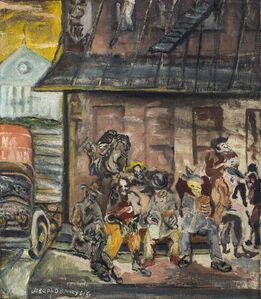 Joseph Delaney, 'Washington Market (NYC)', 1945