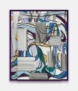 Keltie Ferris, 'Weave/Cleave', 2019