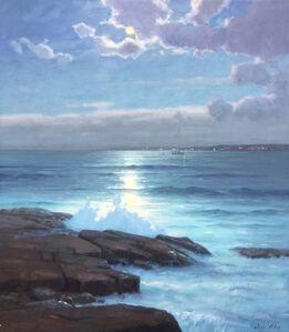 Sam Vokey, 'Moonlight On The Bay', 2020