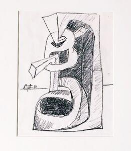 Seymour Lipton, 'Sculpural Study', 1981