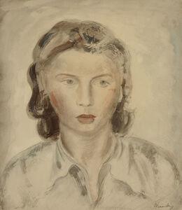 BERNARD MENINSKY, 'Portrait of a Girl', N.D.