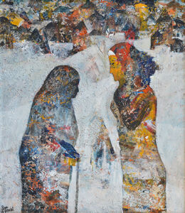 Tayseer Barakat, 'Mother and Daughter', 2018