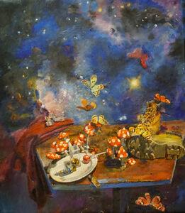 Jesse Edwards, 'Mushroom and Butterflies', 2017