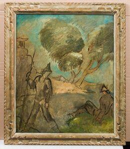 Eugene Zak, 'Paysage romantique'