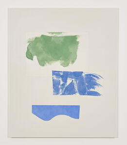 Peter Joseph, 'Green and two blues (November 2014)', 2014