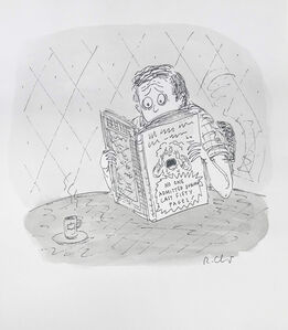 Roz Chast, 'Last Fifty Pages', 2000