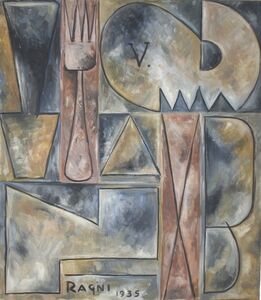 Héctor Ragni, 'Composition Tenedor', 1935