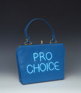 Michele Pred, 'Pro Choice (blue)', 2018