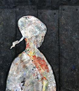 Tayseer Barakat, 'Behind the Wall #1', 2018