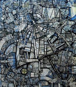 Kazi Salahuddin Ahmed, 'Sheer Chaos 27', 2012
