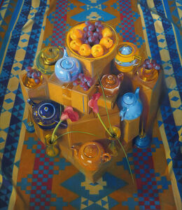 Janet Monafo, 'Red Globes and Apricots', 2002