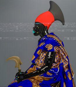 Eddy Kamuanga Ilunga, 'Reconnaissance II', 2016