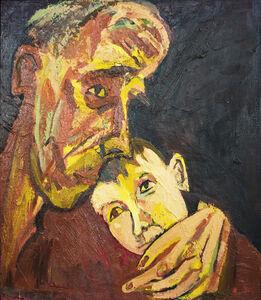 Maxim Kantor, 'Grandfather and grandson', 1991