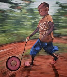 Kwesi Botchway, 'speed game', 2018