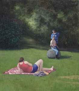 Serban Savu, 'Menage a Trois', 2015