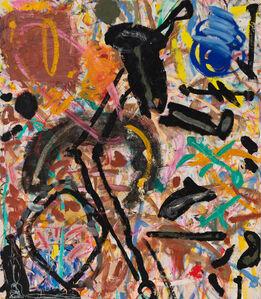 Basil Beattie RA, 'Last Thought Black', 1981