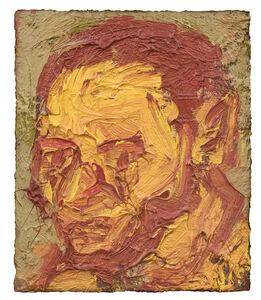 Leon Kossoff, 'Self-Portrait', 1971