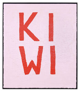 ART N MORE, 'KIWI (Four-letter words)', 2016